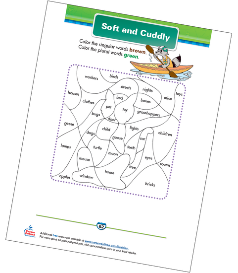 Soft and Cuddly Free Printable Sample Image