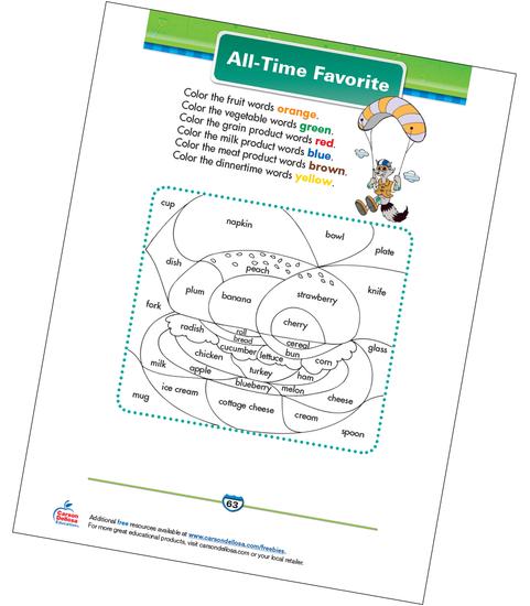 All-Time Favorite Free Printable Sample Image