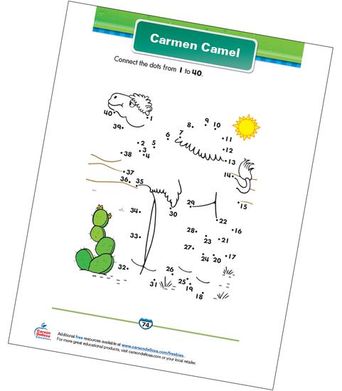 Carmen Camel Free Printable Sample Image