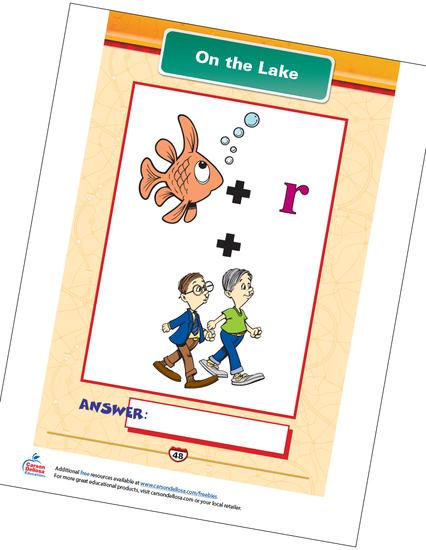 On the Lake Free Printable Sample Image