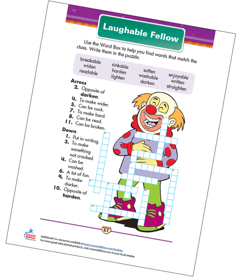 Laughable Fellow Free Printable Sample Image