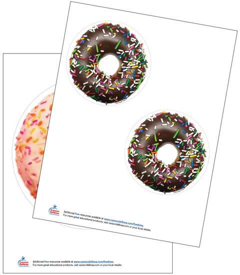 Industrial Cafe Donut Free Printable