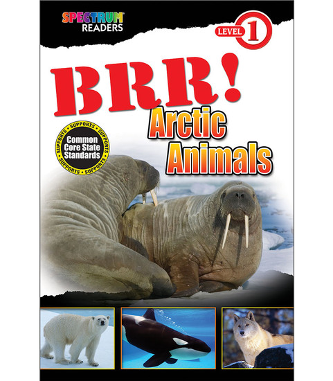 BRR! Arctic Animals Reader Free eBook