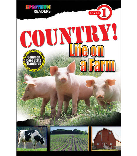 COUNTRY! Life on a Farm Reader Free eBook