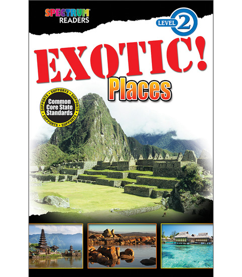 EXOTIC! Places Reader Free eBook