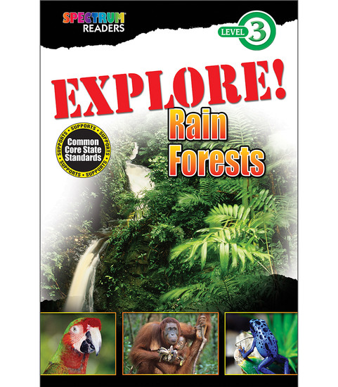 EXPLORE! Rain Forests Reader  Free eBook