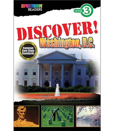 DISCOVER! Washington, D.C. Reader  Free eBook