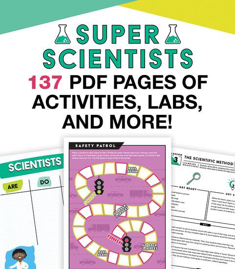 In a Flash: Super Scientist Free Printable