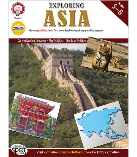 Mark Twain Exploring Asia, Grades 5 - 8 Teacher
