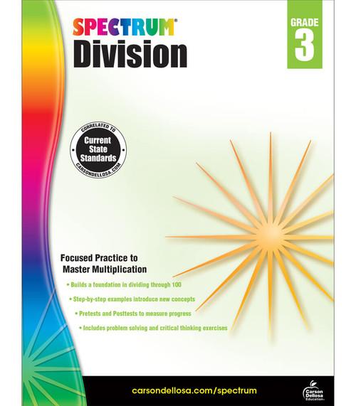 Spectrum® Division Workbook, Grade 3 Parent