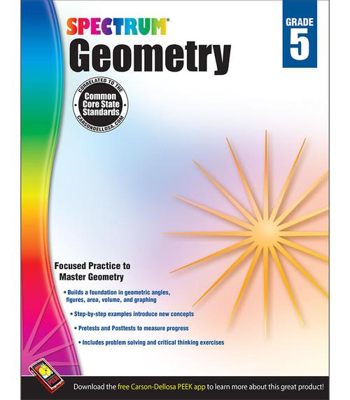 Spectrum® Geometry Workbook, Grade 5 Parent