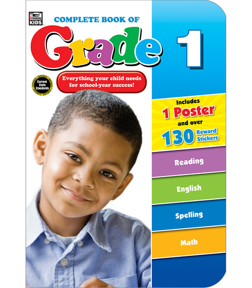 Thinking Kids® Complete Book of Grade 1 Parent