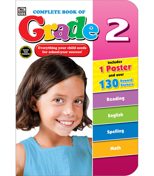 Thinking Kids® Complete Book of Grade 2 Parent