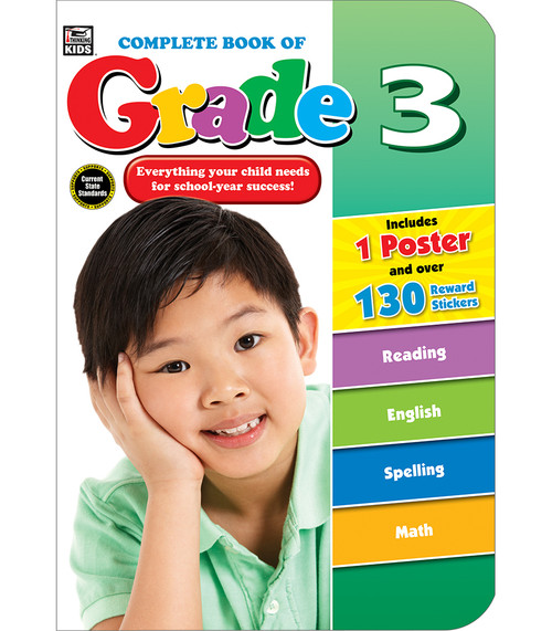 Thinking Kids® Complete Book of Grade 3 Parent