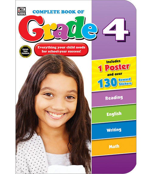 Thinking Kids® Complete Book of Grade 4 Parent