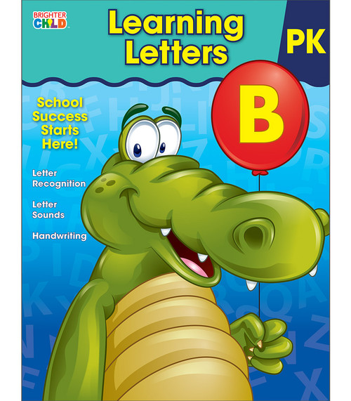 Brighter Child® Learning Letters Workbook Parent