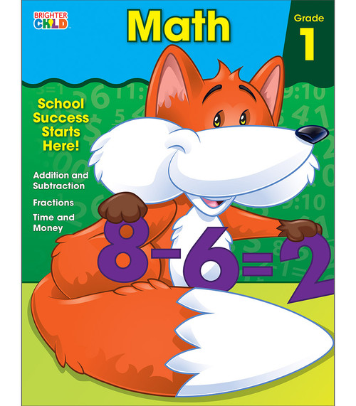 Brighter Child® Math Workbook, Grade 1 Parent