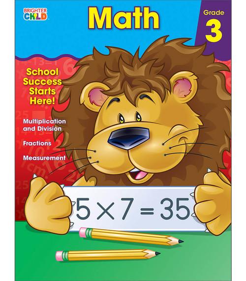 Brighter Child® Math Workbook, Grade 3 Parent