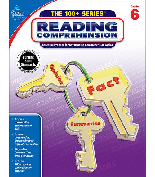 Carson-Dellosa Reading Comprehension, Grade 6 Teacher