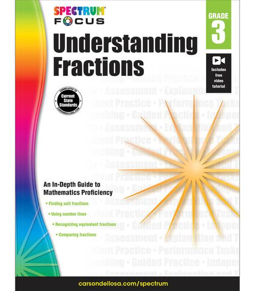 Spectrum® Spectrum Understanding Fractions, Grade 3 Parent