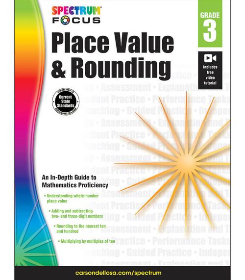Spectrum® Spectrum Place Value and Rounding, Grade 3 Parent