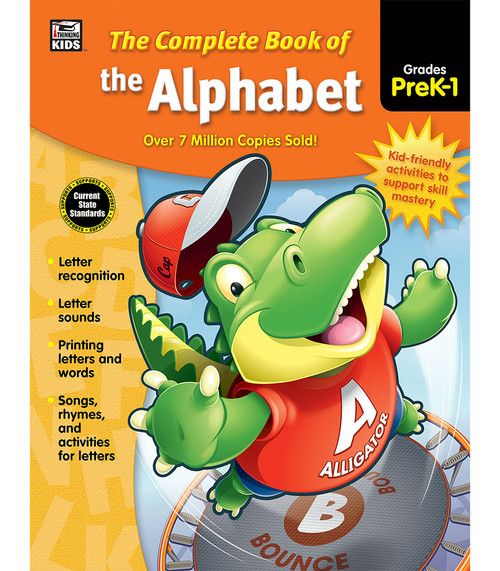 Thinking Kids® Complete Book of the Alphabet, Grades PK - 1 Parent