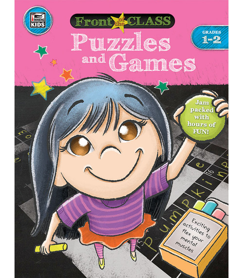 Thinking Kids® Puzzles and Games, Grades 1 - 2 Parent