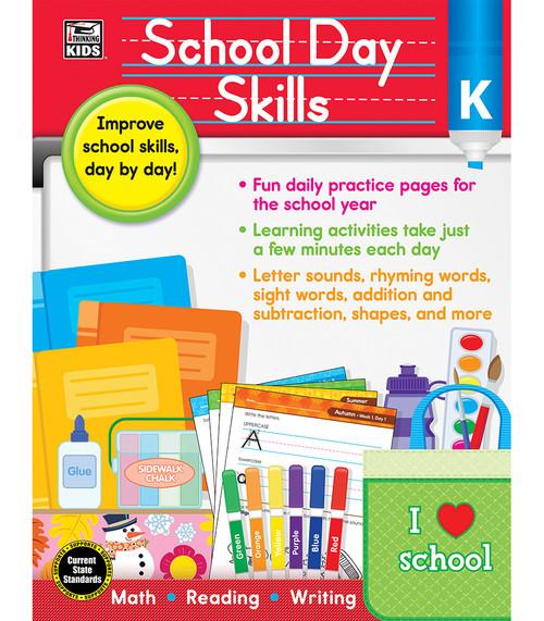 Thinking Kids® School Day Skills, Grade K Parent