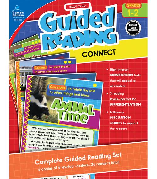 Carson-Dellosa Ready to Go Guided Reading: Connect, Grades 1 - 2 Teacher