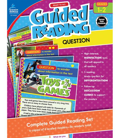 Carson-Dellosa Ready to Go Guided Reading: Question, Grades 1 - 2 Teacher
