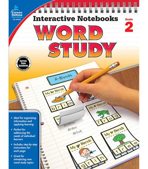 Carson-Dellosa Interactive Notebooks Word Study, Grade 2 Teacher