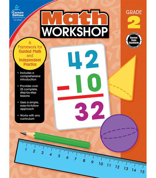 Carson-Dellosa Math Workshop, Grade 2 Teacher