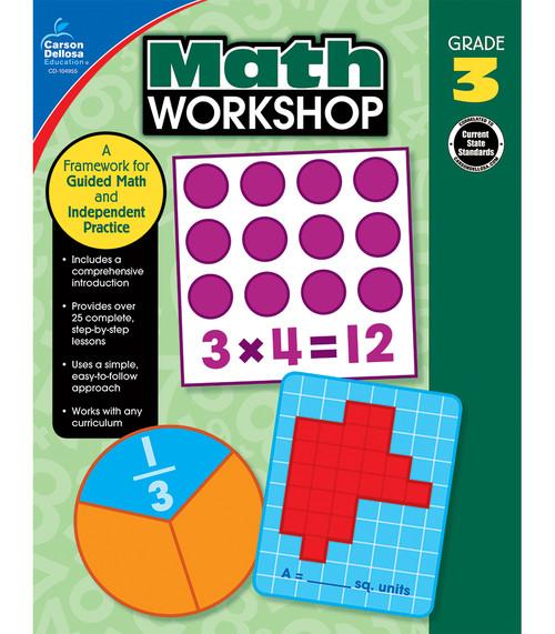 Carson-Dellosa Math Workshop, Grade 3 Teacher