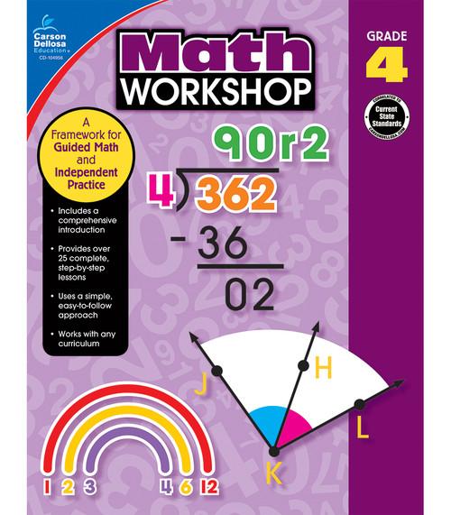 Carson-Dellosa Math Workshop, Grade 4 Teacher