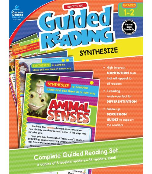 Carson-Dellosa Ready to Go Guided Reading: Synthesize, Grades 1 - 2 Teacher