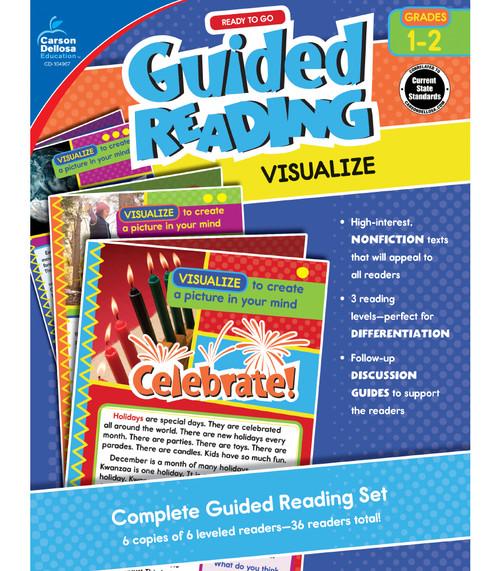 Carson-Dellosa Ready to Go Guided Reading: Visualize, Grades 1 - 2 Teacher