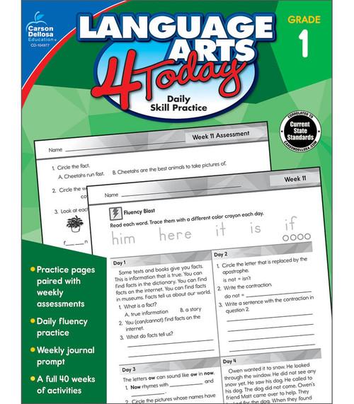 Carson-Dellosa Language Arts 4 Today, Grade 1 Teacher