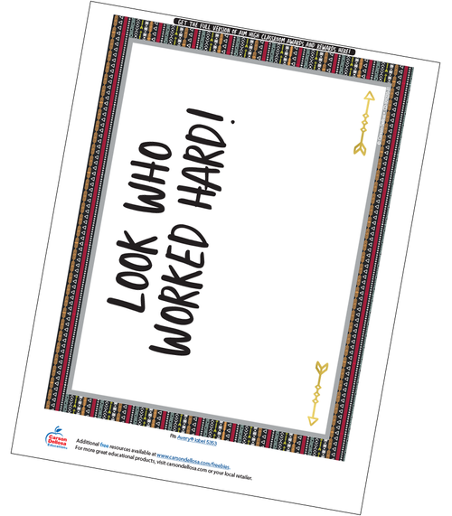 Aim High Full Page Certificate Free Printable Sample Image