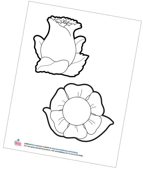 Flowers Free Printable