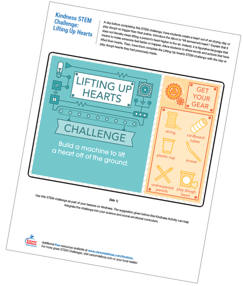 Lifting up Hearts Free Printable