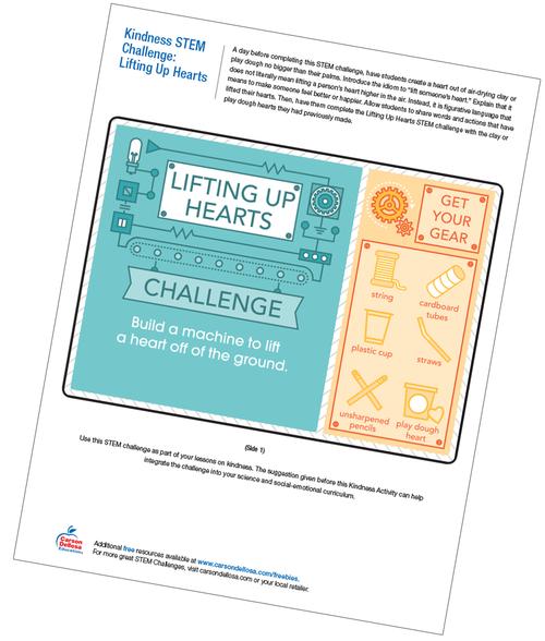 Lifting up Hearts Free Printable
