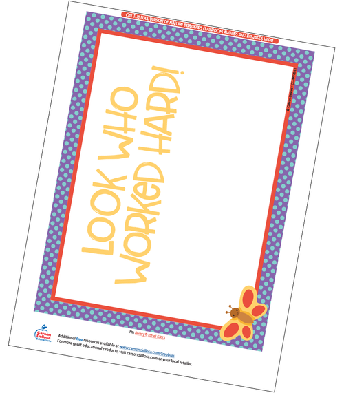 Nature Explorers Full Page Certificate Free Printable Sample Image