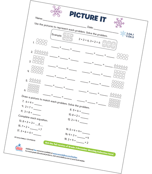 Picture It Free Printable Sample Image