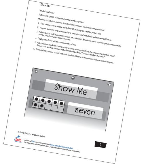 Show Me Free Printable Sample Image