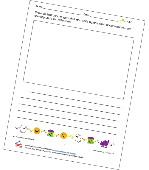 What Do You Want To Be For Halloween? Free Printable Activity