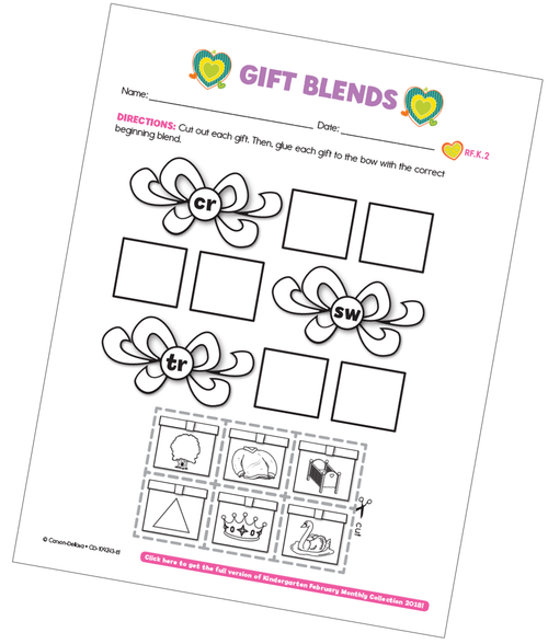 Gift Blends Free Printable