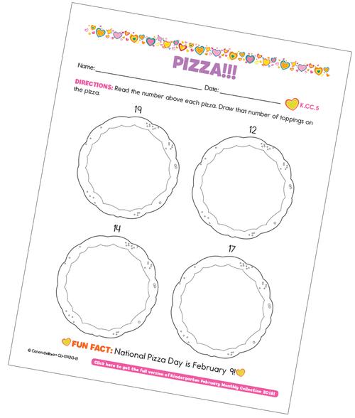 Pizza! Free Printable