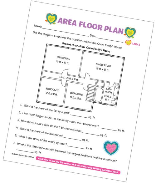 Area Floor Plan Free Printable