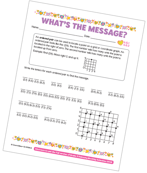 What's the Message Free Printable