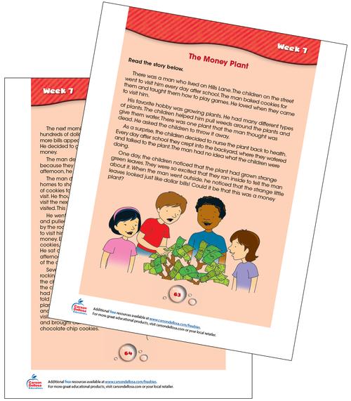 Week 7 Grades 2-3 Free Printable Sample Image